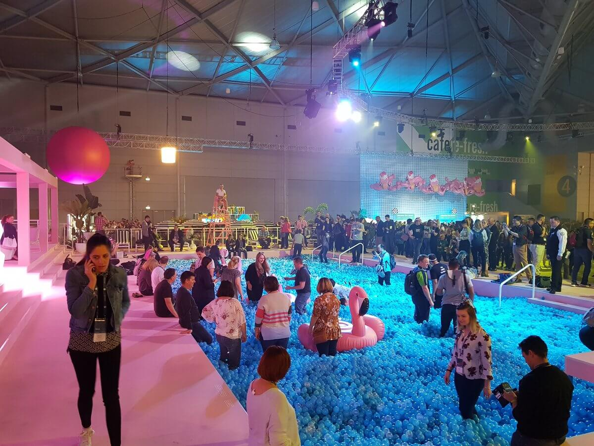 Pool at Xerocon 2018